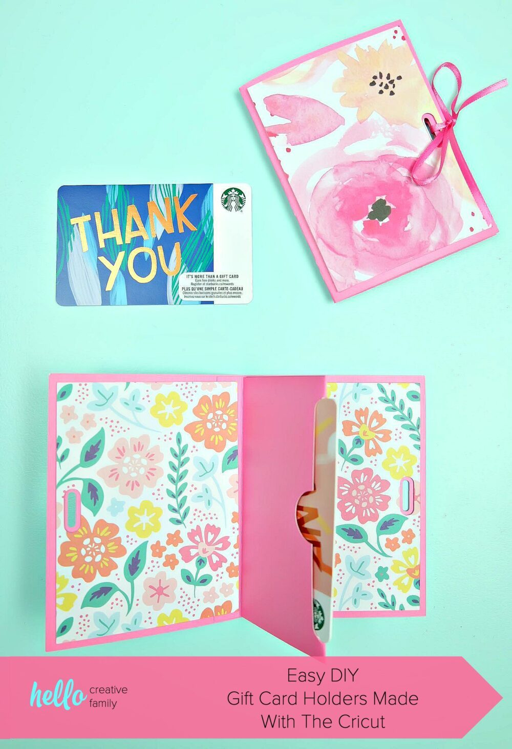 Easy Diy Gift Card Holders Made With The Cricut Diy Opic