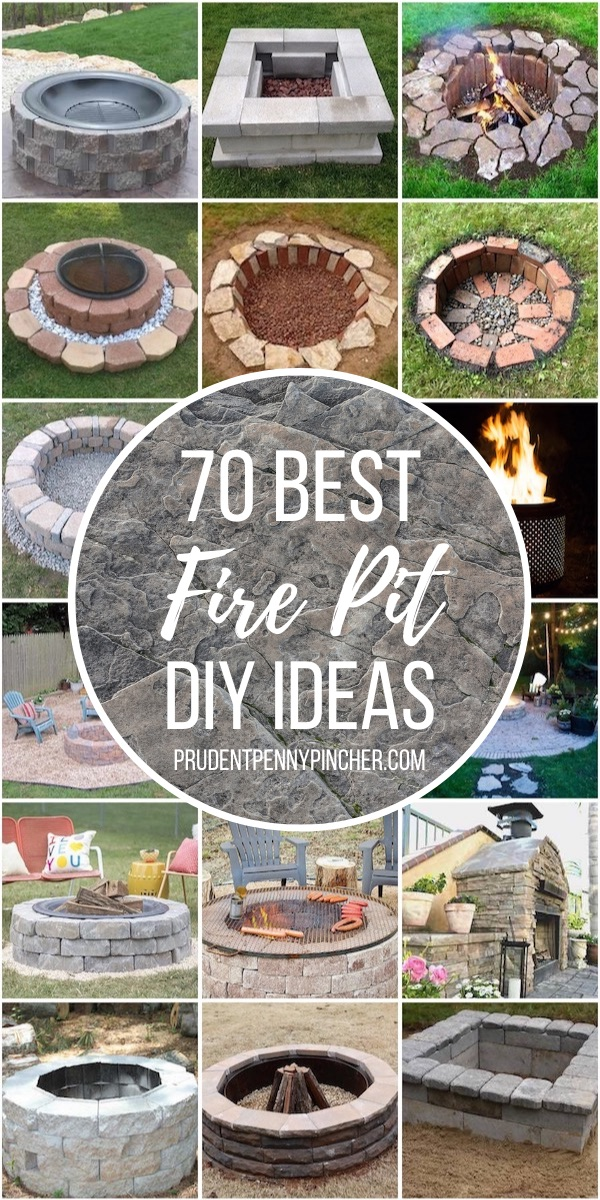 Easy 70 Diy Outdoor Fire Pits Ideas Diy Opic Your Favorite Crafts Diy Ideas