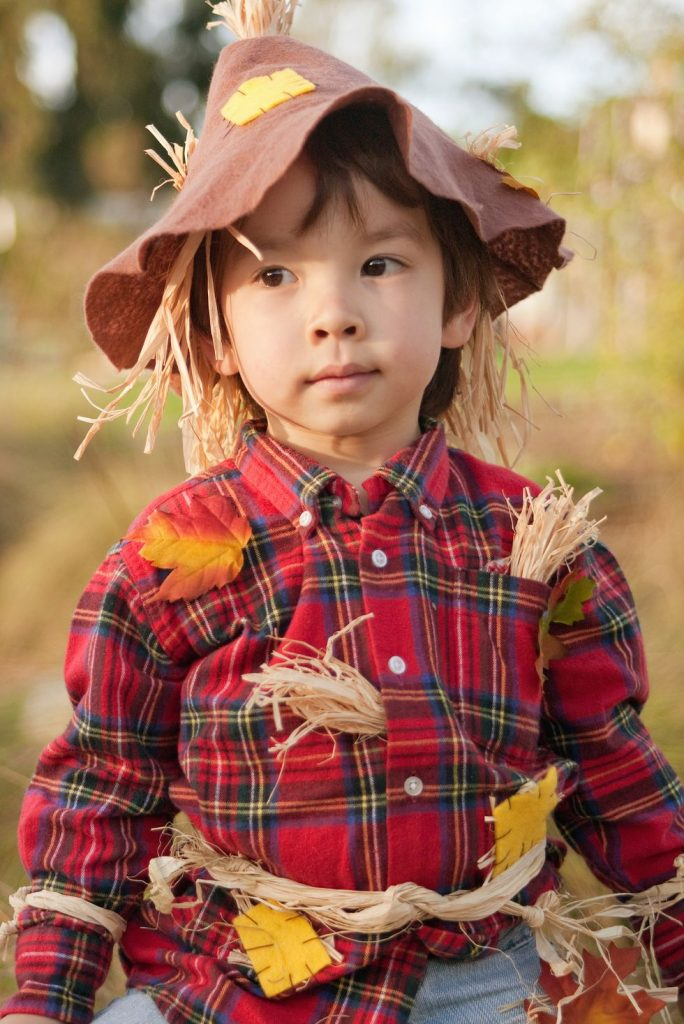 cute scarecrow costume