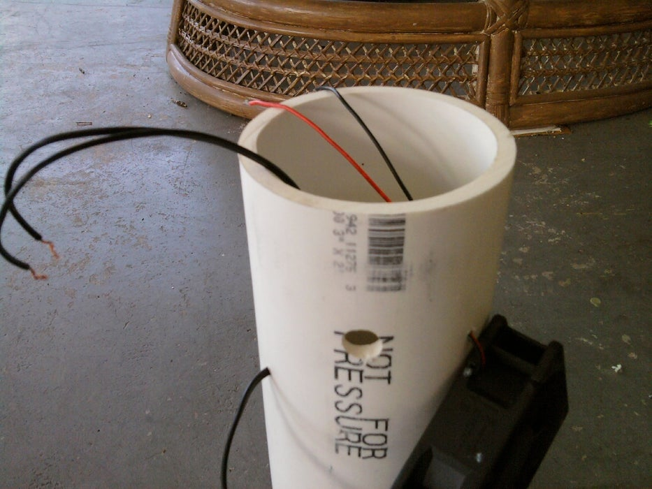 diy air purifier smoke
